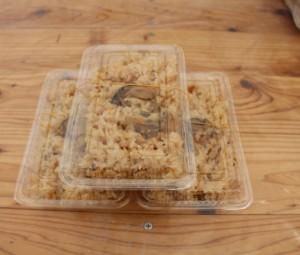 牡蠣めし(1パック) 200円